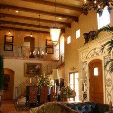 Mediterranean Living Room by Distinctive Dwellings - Thayne Hillrichs