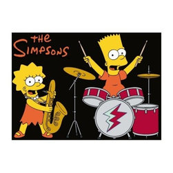 Simpsons Rock Stars Rug - Black - About LA RugLA Rug, based in Los Angeles, Calif., boasts a vast selection of contemporary rugs, kids rugs, traditional rugs, Oriental rugs, tapestries, and other home decor accessories. The collections offered by LA Rug are constantly being updated by skilled artists who create unique and elegant rugs for every occasion. Revamp your space with a contemporary rug by LA Rug or try a beautiful tapestry to cover your walls with elegance.