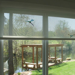 Recent Projects - Solar shades with cassette valance sold and installed by Interior VUES, (Nick Nixon).