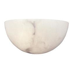 "Metropolitan - Metropolitan N2031 Alabaster Dust 1 Light Wall Sconce - 11"" W x 5.5"" H x 5.75"" Ext"