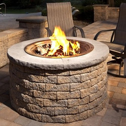 Outdoor Fire Pit Kits - A fire pit can bring warmth and intimacy to a patio — and s'mores.