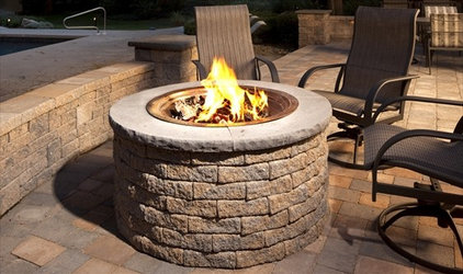 Traditional Fire Pits by EP HENRY