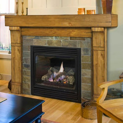 Fireplaces - While a fireplace can bring warmth, beauty and ambiance to your room, most homeowners agree that an attractive fireplace mantel is just as important as the fireplace itself.