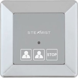 Steamist - TSX 220 TS Series On/Off - PN - Steamist 220T-PN TSX 220 TS Series Traditional On/Off, Polished Nickel. Steamist has applied sophisticated technology to take the luxury and benefits of a home steam bath to new levels. The result is Total Sense, with InstaMist and Even Steam features that enhance the steam bathing experience, plus Spa Options that can add the sensory experience and therapeutic benefits of Chroma therapy, aromatherapy and music. Looking ahead, the companys goal is to continue as the most innovative producer of systems that Relax, Restore and Renew.