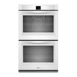 """Whirlpool - WOD93EC7AW 27"""" Double Electric Wall Oven With 4.3 Cu. Ft. Per Oven  Self-Cleanin - The Whirlpool WOD93EC7AX features an outstanding43 cu ft capacity This Double Wall Oven will satisfy your every need With True Convection Cooking cooking will never be the same again Your dishes will be cooked to perfection with this feature This is ..."""
