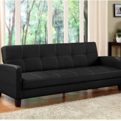 Ameriwood Delaney Sofa Sleeper - Black
