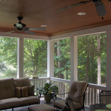 Traditional Porch by Iron River Building Group, Inc
