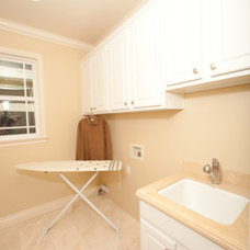 Traditional Laundry Room ABC Builder, Inc.