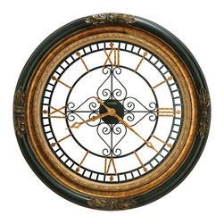 "Howard Miller - Howard Miller 37"" Contemporary Wall Clocks 