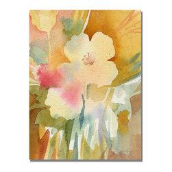 Trademark Fine Art - Shelia Golden 'Ochre Garden View' Canvas Art - Artist: Sheila GoldenTitle: Ochre Garden ViewProduct type: Giclee,gallery wrapped