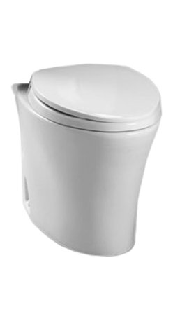 Toto - Toto CT794EF#01 Cotton White Eco Nexus Toilet Bowl Only, 1.28 GPF ADA - Utilizing an oval-shaped, flared design and a sleek, simplistic style, the Nexus line is a sophisticated addition to any decor.