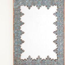 Acanthus Leaf Mirror | Wisteria