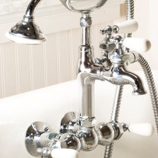 Traditional Bathroom Faucets And Showerheads by Classic Clawfoot Tubs