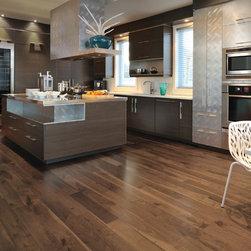 Mirage Hardwood Floors - Mirage: Admiration Collection: Knotty Walnut, color: Savanna