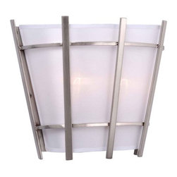World Imports - World Imports WI307637 Fensu 2 Light ADA Compliant Wall Sconce - Features: