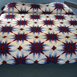 Amish Wedding Star Quilt - Amish Spirit Quilts
