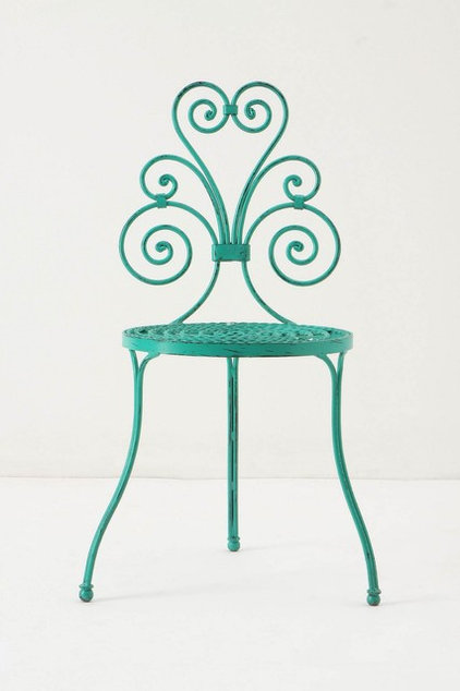 eclectic outdoor chairs by Anthropologie