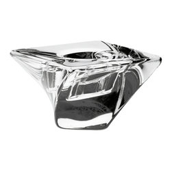 Orrefors - Tornado Votive - Here's a collection for lovers of original design and craftsmanship in crystal. The exterior surfaces appears  twisted while the interiors remain vertical.  With captivating angles of refracted light, Tornado is brilliant standing alone or as a series