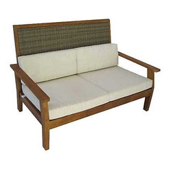 Panama Jack Leeward Islands Loveseat with Cushion