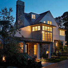 Farmhouse Exterior by Tiburon Homes LLC