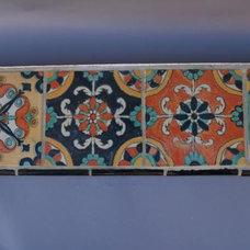 2837. Rare Tile Ledge, Tile, Antique Architectural at Revival Antiques