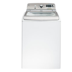 GE Washing Machines - Wash Action Waterfall Loads receive thorough coverage with this waterfall that combines with a recirculation pump to move water and detergent through clothes