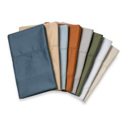 Wamsutta - Wamsutta Wrinkle-Free Pima Sateen Open Stock Fitted Sheet - Outfit your bed in pure luxury with these amazingly soft and durable Pima Sateen sheets. Not only do they look and feel great, they stay that way thanks to their easy-care, wrinkle-free construction.
