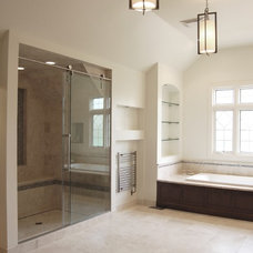 Contemporary Bathroom by Silver Leaf Construction & Renovation