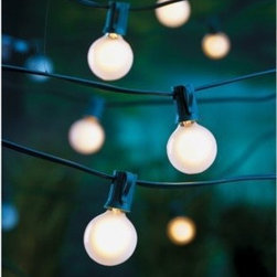Room Essentials Frosted Globe Lights - It's always a good idea to have lighting on hand in case the sun sets while your guests are enjoying the conversation. These globe party lights add just the right amount of ambiance to an outdoor space.