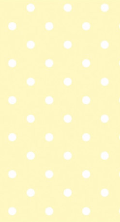 Yellow Wallpaper - Playfully adorn your walls with this pale yellow polka-dotted print from the book Peek-A-Boo at AmericanBlinds.com.