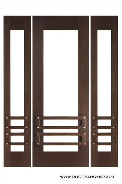 Contemporary Front Doors by Doors4Home