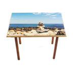 My Méz - Narragansett Zen Table/Wall Art - It's a table; It's wall art. It's BOTH, and It's Made In the USA!