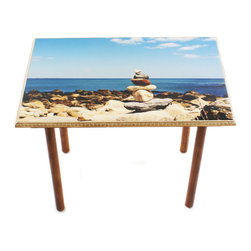 My Méz - Narragansett Zen Table/Wall Art - It's a table; It's wall art. It's BOTH, and It's Made In the USA!