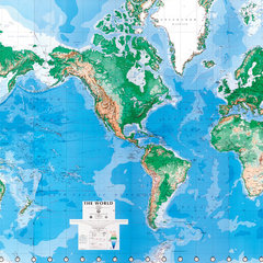 eclectic wallpaper by World Maps Online