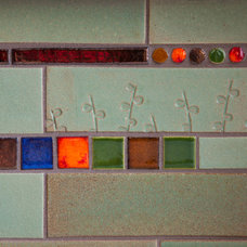 Kitchen by Mercury Mosaics and Tile