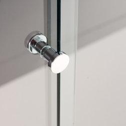stainless steel shower accessories - stainless steel shower curtain support _ installation beetween walls