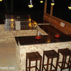 Transitional Patio by FauxPanels®