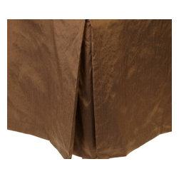 MysticHome - Sienna Bed Skirt by MysticHome, Queen - The Sienna, by MysticHome