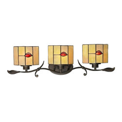 Dale Tiffany - New Dale Tiffany 3-Light Vanity Lights - Product Details