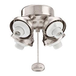 Kichler - Kichler 350011BSS 4 Light Turtle Fixture - Kichler 350011BSS 4 Light Turtle Fitter