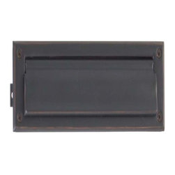 Brass Accents - Brass Accents Mail Slot, 13 X 3 5/8 Inch, Oil Rubbed Bronze A07-M0010-613 - Brass Accents Mail Slot, 13 X 3 5/8 Inch, Oil Rubbed Bronze