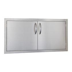 """Summerset - 42"""" Double Doors - #304 Stainless Steel Construction"""