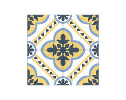 """""""Alegria"""" Encaustic Cement Tiles Standard 8x8 - Rustico Tile and Stone. We offer wholesale Prices and global Shipping.  Contact us for a quote.  Make Every Space Count!"""