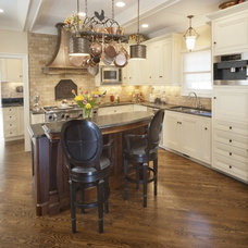 Mediterranean Kitchen by Parrish Construction