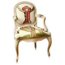 Traditional Accent Chairs by huttonhome.com