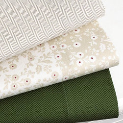 Martha Stewart Collection Bedding, Coordinating Flannel Sheet Sets - I'm a big fan of warm flannel sheets in the colder months, and these simple herringbone patterns are terrific.