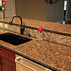 Traditional Kitchen by Morrone Interiors