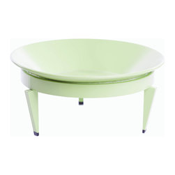 Steel Life's Mezzo Mod Dish | Verdant (Lime Green) - Afraid to get something too big? Don't want to go small? This decorative dish is a perfect fit for you. Mezzo, meaning 'middle' in Italian, was named for the Designer's love of Italy and the time she spent studying the lovely culture and landscapes there. 'Cin cin' to the Mezzo!
