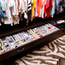 Transitional Closet Organizers by California Closets of Indianapolis