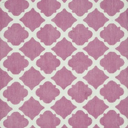 Loloi - Loloi Piper Area Rug, Bubble Gum Pink, 2'x3' - The Piper area rug Collection offers an affordable assortment of Transitional stylings. Piper features a blend of natural Bubble Gum Pink color. Machine Made of Polyester the Piper Collection is an intriguing compliment to any decor.